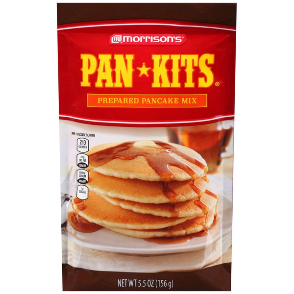 Morrison's Pan-Kits Prepared Pancake Mix
