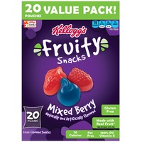 Kellogg's Fruity Snacks Mixed Berry Fruit Flavored Snacks