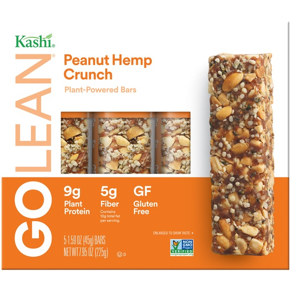 Kashi Peanut Hemp Crunch Plant-Powered Bars