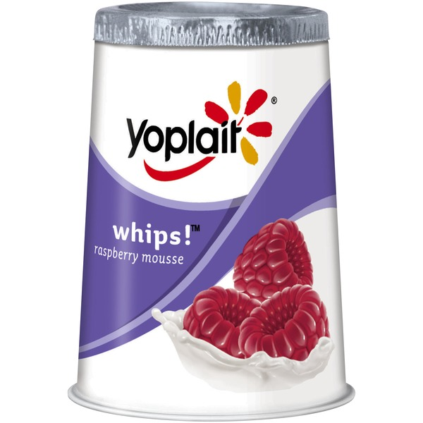 Yoplait Whips! Raspberry Mousse Lowfat Yogurt Mousse