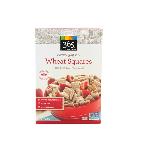 365 Bite Sized Wheat Squares Cereal