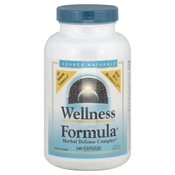 Source Naturals Wellness Formula, Capsules