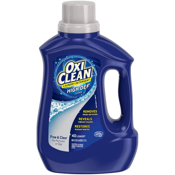 Oxi Clean Free & Clear High Def Clean Laundry Detergent