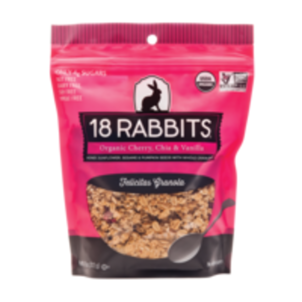 18 Rabbits Organic Cherry, Chia, and Vanilla Granola