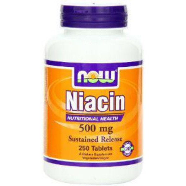 Now Niacin 500 Mg Tablets