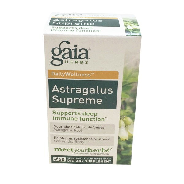 Gaia Herbs Astragalus Supreme Dietary Supplement