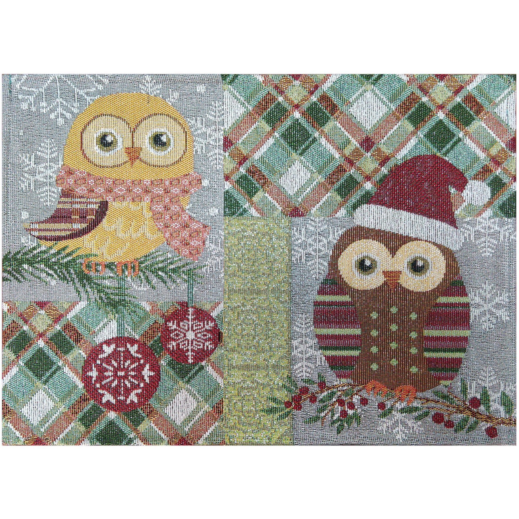 Holiday Time Owl Placemat