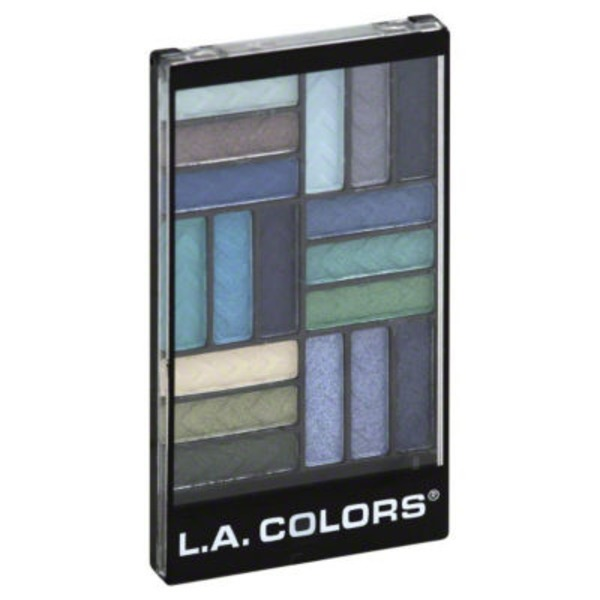 L.A. Colors Glam Palette 18 Color Eyeshadow Shady Lady