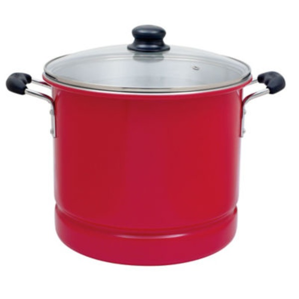 Cocinaware Red 16 Qt Tamale/Seafood Steamer