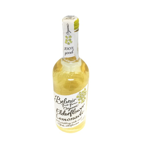 Belvoir Fruit Farms Lemonade, Organic, Elderflower