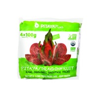Pitaya Plus Smoothie Pack, Organic, Superfruit, Dragonfruit, 4 Pack