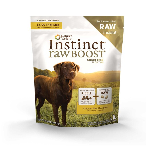 Nature's Variety Instinct Raw Boost Chicken Meal Formula