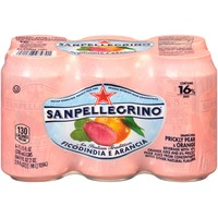San Pellegrino Ficodindia E Arancia Sparkling Prickly Pear & Orange