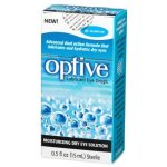 Refresh Optive Lubricant Eye Drops, 0.5 Oz