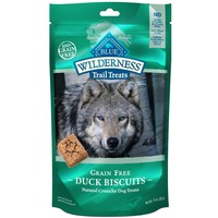 Blue Buffalo Dog Treats, Natural Crunchy, Grain-Free, Duck Biscuits