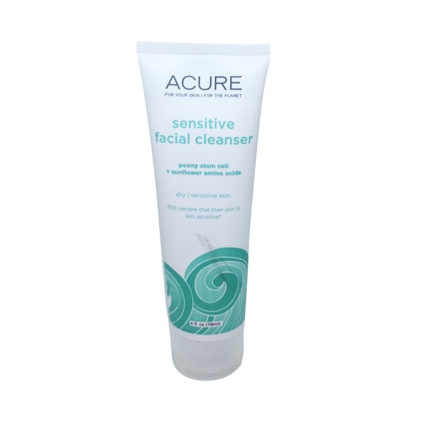 Acure Facial Cleanser, Sensitive