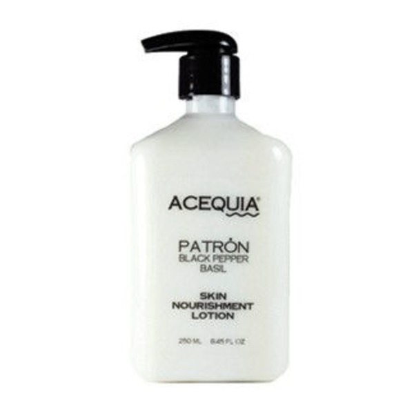 Acequia Patron Black Pepper Basil Skin Lotion