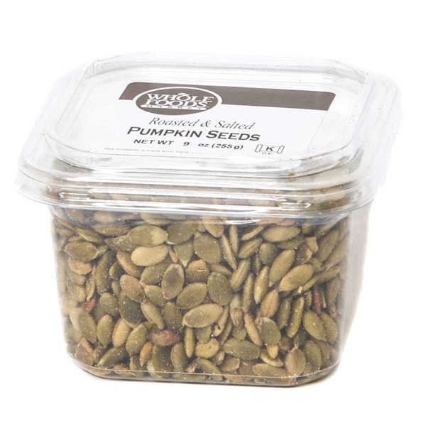 Whole Foods Market Roasted & Salted Pumpkin Seeds