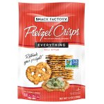 Snack Factory Pretzel Crisps, Everything, 7.2 oz