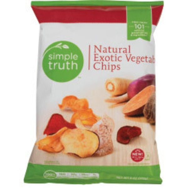 Simple Truth Natural Exotic Vegetable Chips