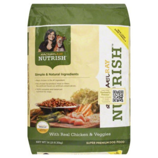 Nutrish Real Chicken & Veggies Recipe Dog Food