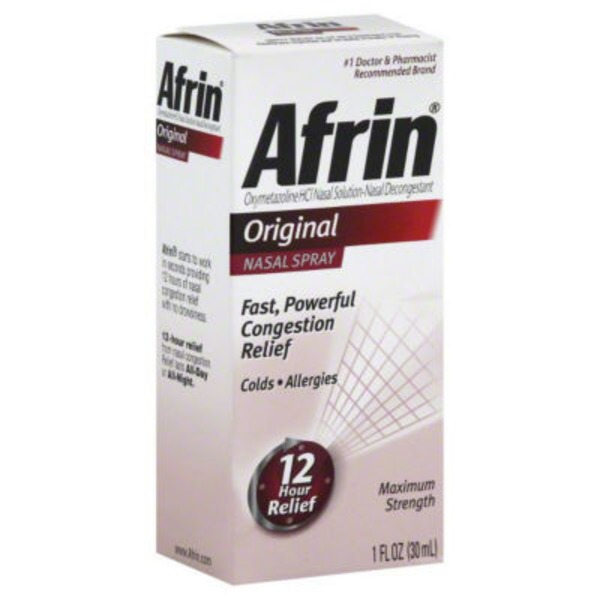 Afrin Original Maximum Strength Nasal Spray