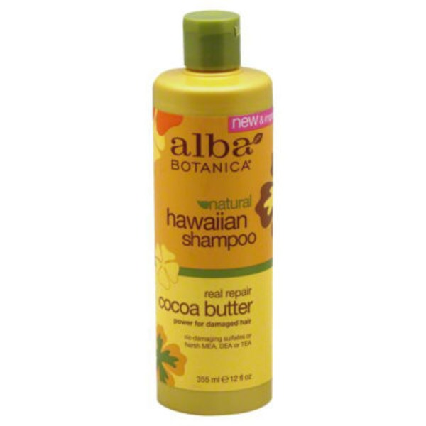 Alba Botanica Hawaiian Shampoo Real Repair Cocoa Butter