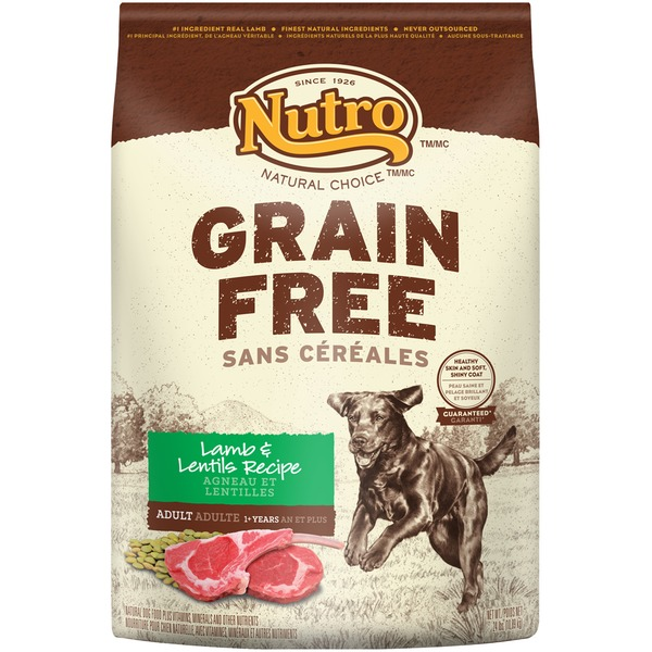 Nutro Natural Choice Grain Free Lamb & Lentils Recipe Dog Food