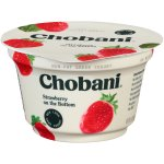 Chobani Strawberry on the Bottom Non-Fat Greek Yogurt, 5.3 oz