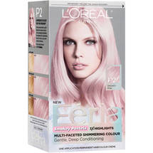 L'Oreal Paris Feria Smokey Pastels Permanent Cream Haircolor Kit Smokey Pink