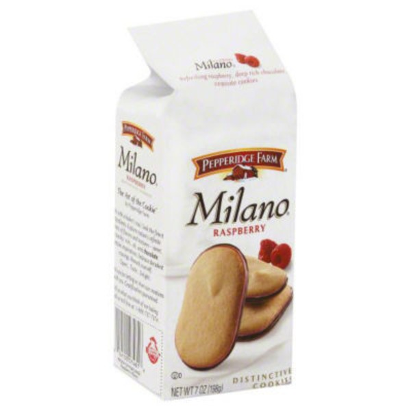 Pepperidge Farm Cookies Milano Raspberry Flavored Chocolate Cookies