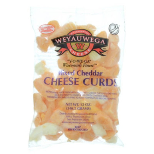 Weyauwega Star Mixed Cheddar Cheese Curds
