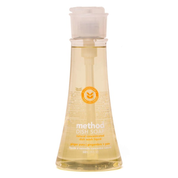 Method Ginger Yuzu Scented Dish Soap