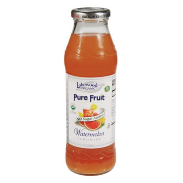 Lakewood Organic Pure Fruit Watermelon Lemonade Beverage