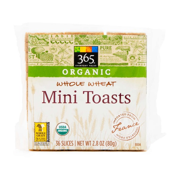 365 Organic Whole Wheat Mini Wheat Toasts