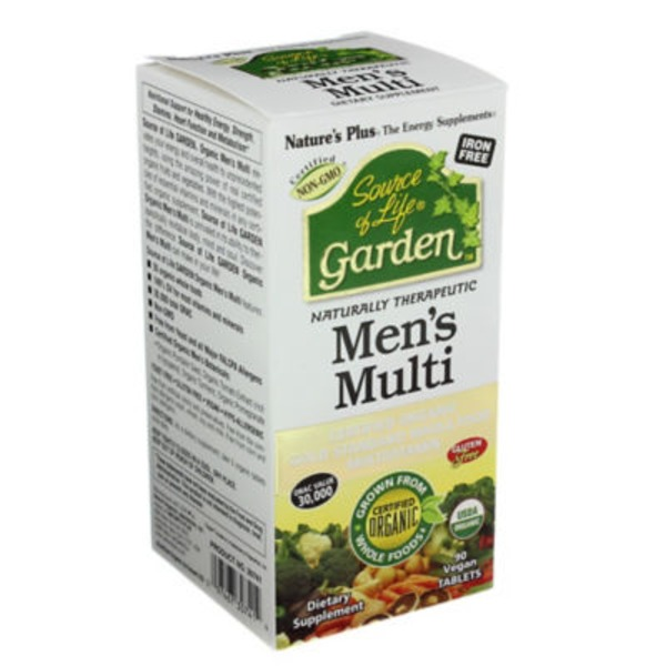 Nature's Plus Source of Life Garden Men's Multi-Vitamins