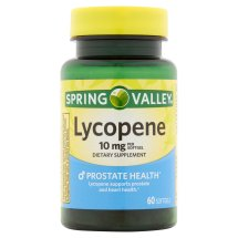 Spring Valley Lycopene Softgels, 10 mg, 60 Ct
