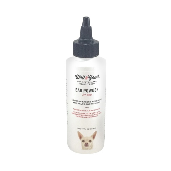 Well & Good Dry Ear Powder For Dogs