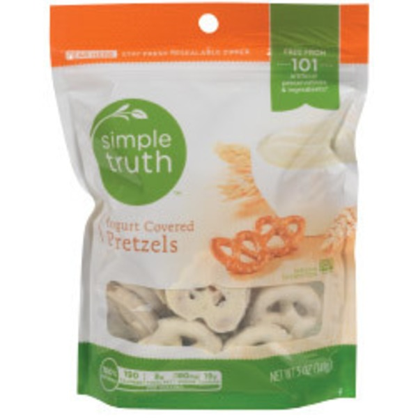 Simple Truth Yogurt Covered Pretzels