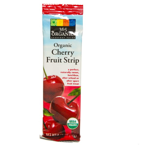 365 Organic Cherry Fruit Strip