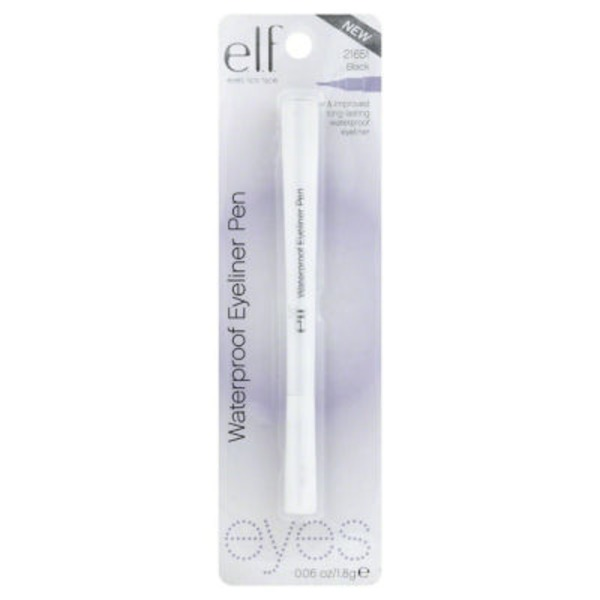E.L.F. Studio Waterproof Eyeliner Pen, Black