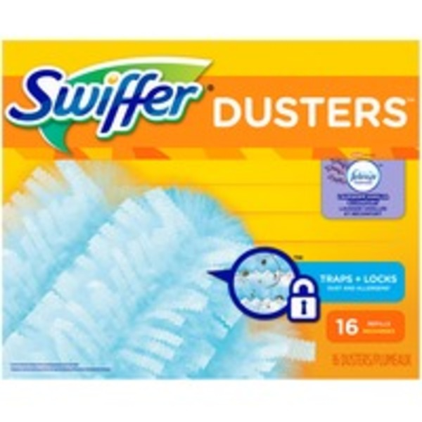 Swiffer 180 Dusters Refills with Febreze Lavender Vanilla & Comfort Scent 16 Count Surface Care
