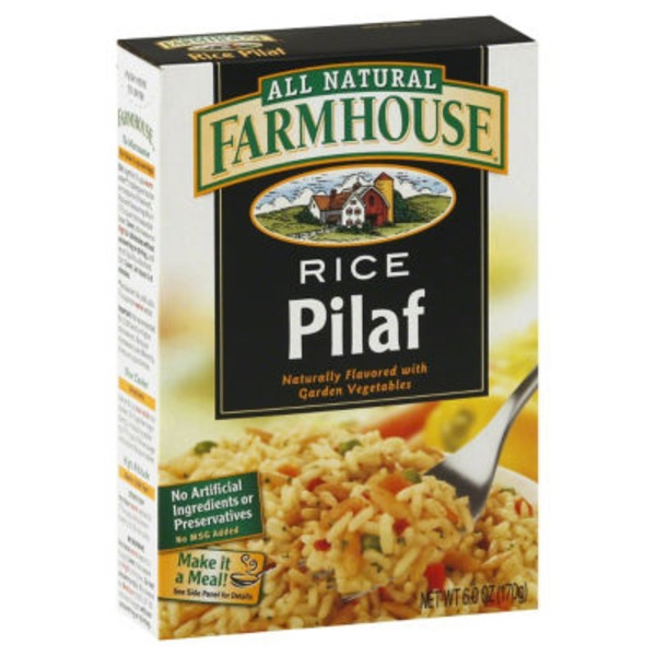 Farmhouse Rice, Pilaf with Garden Vegetables, Box