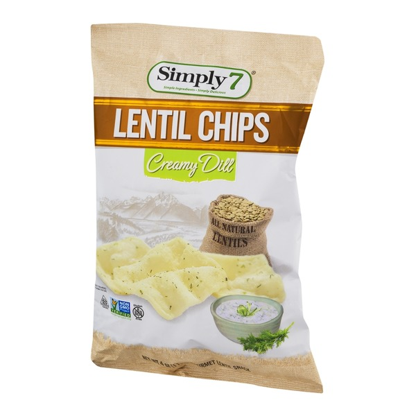 Simply 7 Lentil Chips Creamy Dill