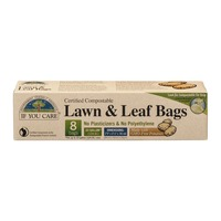 If You Care Certified Compostable Lawn & Leaf Bags 33 Gallon Bags - 8 CT