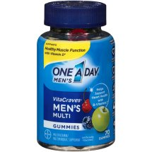 One A Day Men's VitaCraves Gummies Multivitamin Supplement, 70 Count