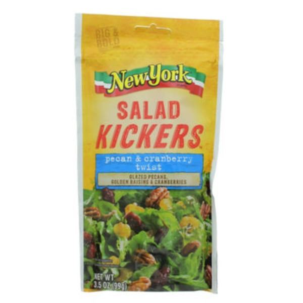 New York Style Pecan & Cranberry Twist Salad Kickers