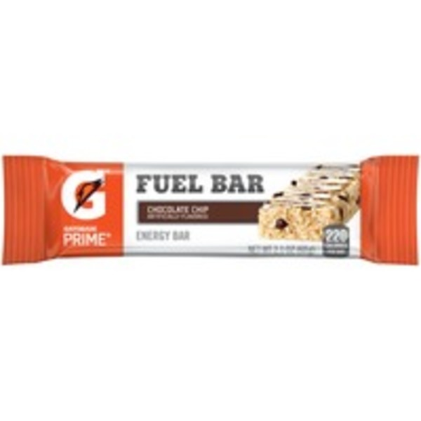 Gatorade Prime Chocolate Chip Fuel Bar Energy Bar
