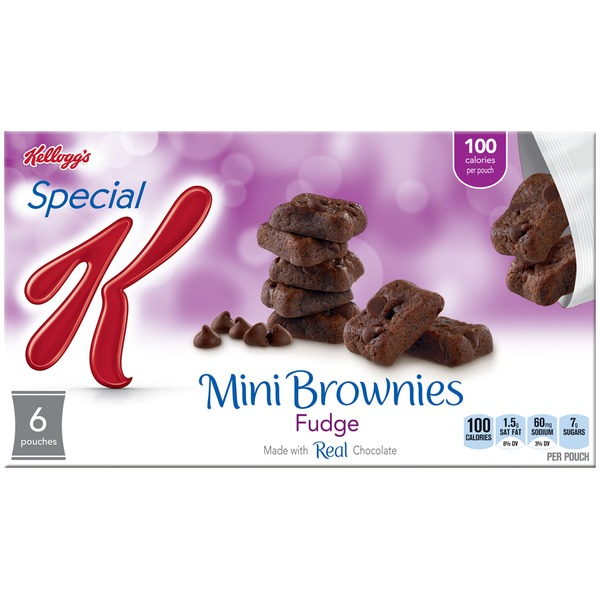 Kellogg's Special K Fudge Mini Brownies