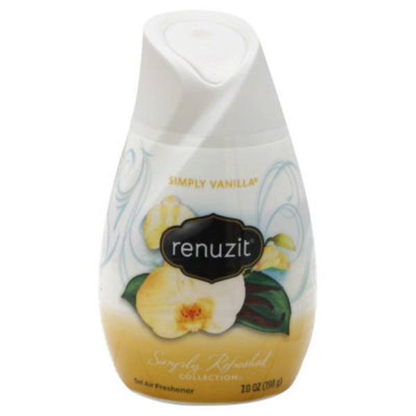 Renuzit Simply Refreshed Collection Vanilla Gel Air Freshener
